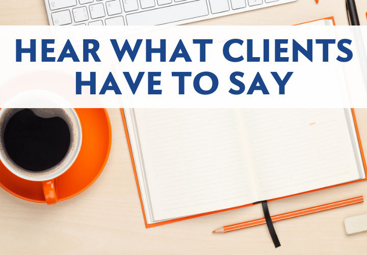 Hear what clients have to say