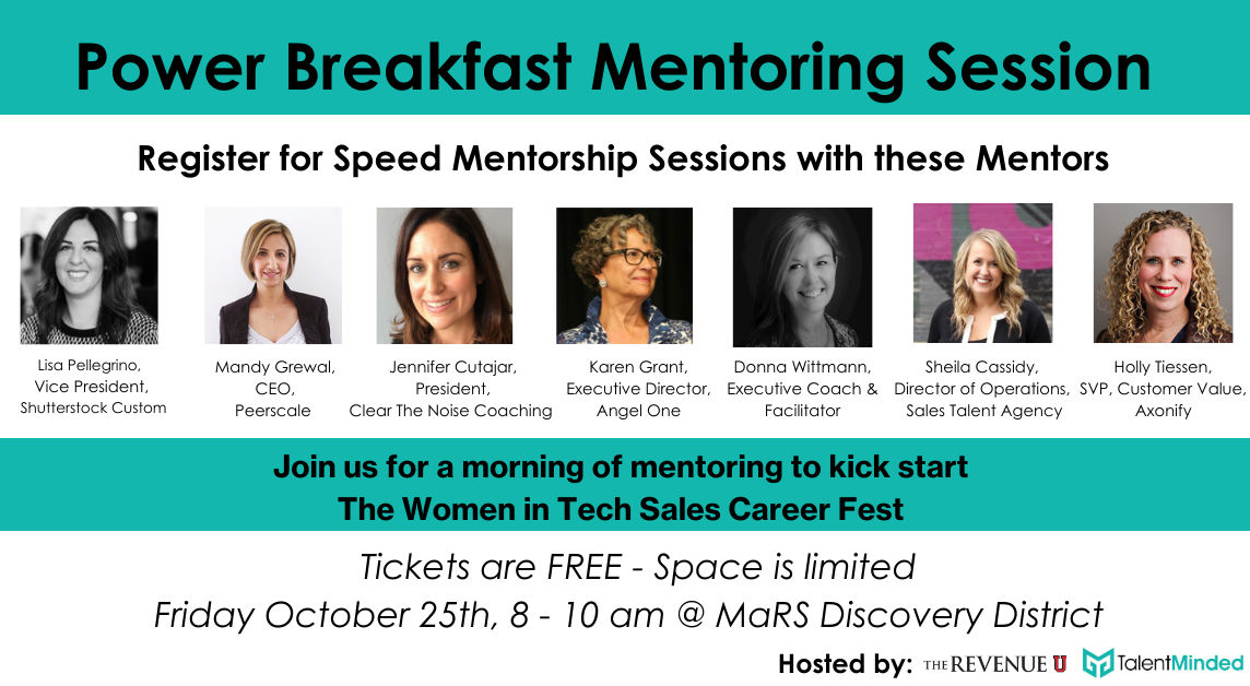 Power Breakfast Mentoring Session