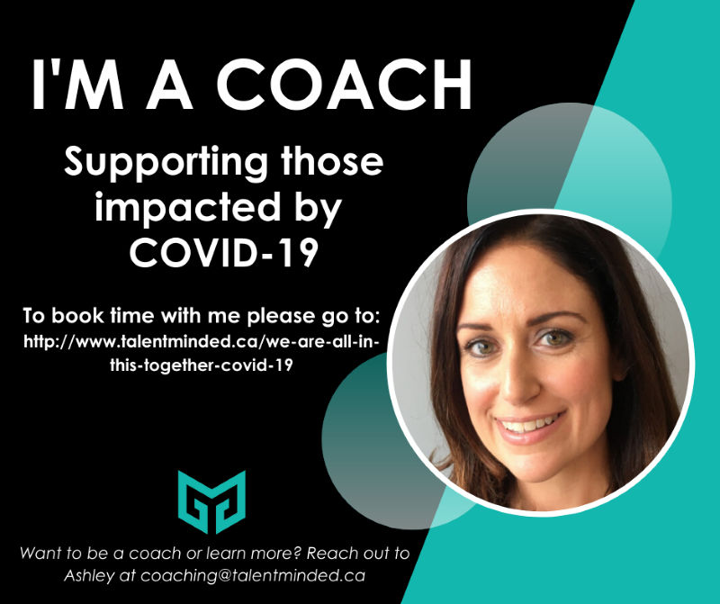 Talented Mind Coaching - Jenn Cutajar - Supporting those impacted by COVID-19