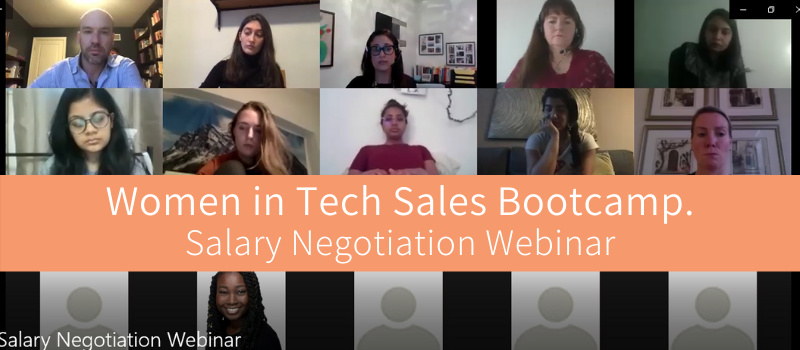 Women In Tech Sales Bootcamp - Jenn Cutajar